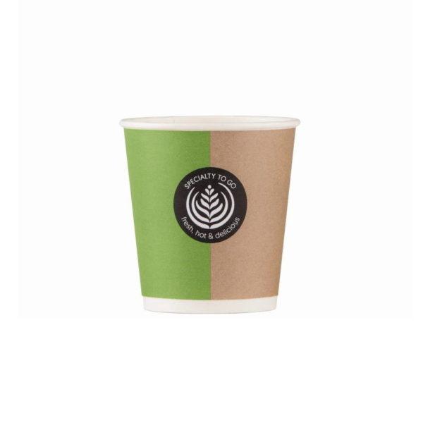 Papirnati lončki za kavo Coffee to go Huhtamaki espresso 1dl / 100ml
