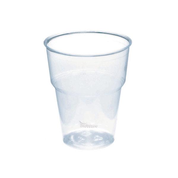 BIOWare prozoren kozarec za pivo, sok, 5dl - Huhtamaki compostable