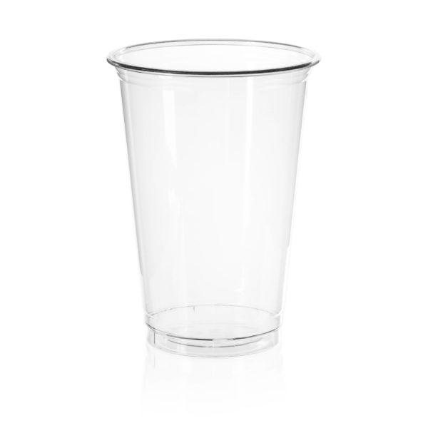 PET cvrst prozoren kozarec za pivo, smuti 5dl -AE 590ml
