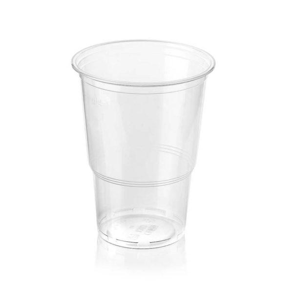 PP prozoren kozarec za točrno pivo, sok, koktejl, smuti 4dl -AEP 500ml