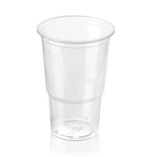 PP prozoren kozarec za točrno pivo, sok, koktejl, smuti 5dl -AEP 600ml
