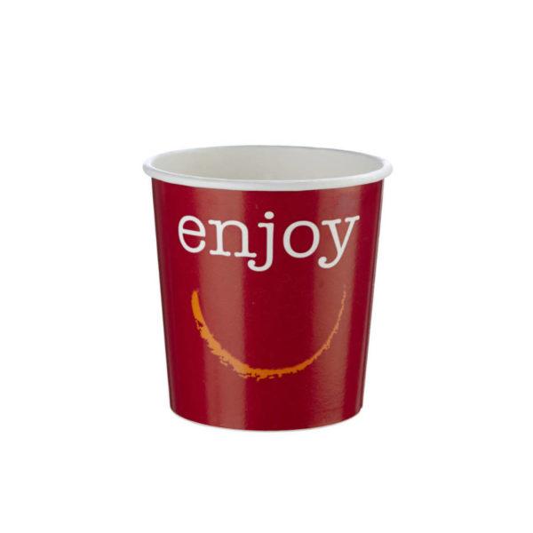 Papirnata posodica skodelica za juho enoloncnico 3dl Huhtamaki