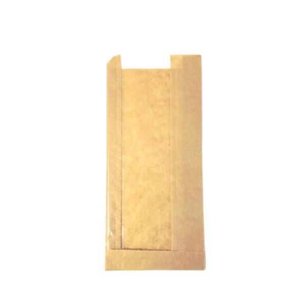 Papirnata vrecka z oknom za sendvič