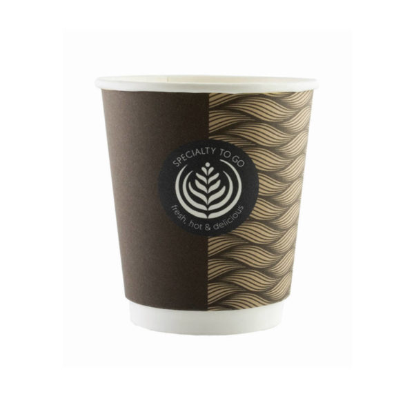 Papirnati lončki za kavo Termo dvoslojni Coffee to go Huhtamaki 2dl /250ml