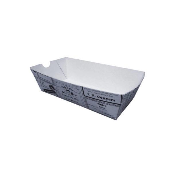 Papir posodica ladjica casopis L