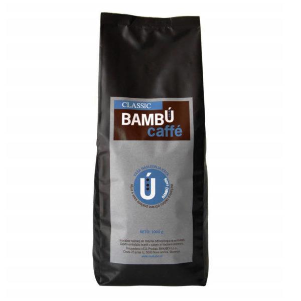 Kava v zrnu Bambu Classic za pisarne, za uporabo pri kavnih avtomatih