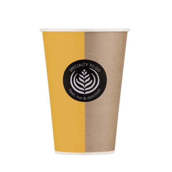 Papirnati lončki za Vending stroje za kavo Coffee to go Huhtamaki 3dl