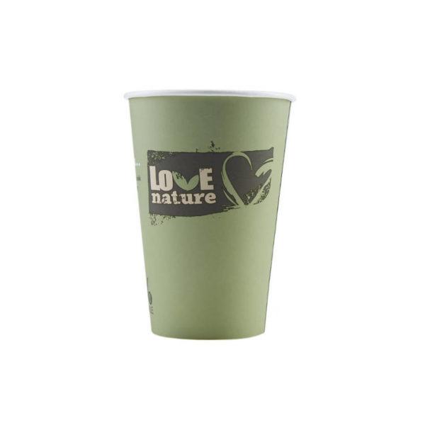 Tisk na BIO papirnate lončke za kavo PLA compostable 3dl