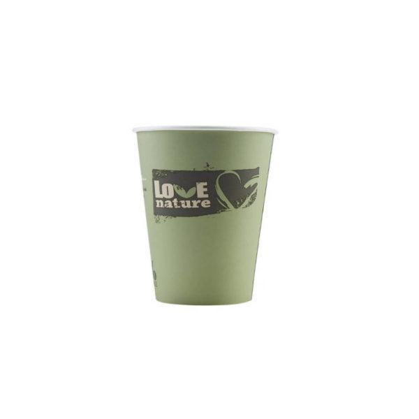 Tisk na BIO papirnate lončke za kavo PLA compostable 2dl