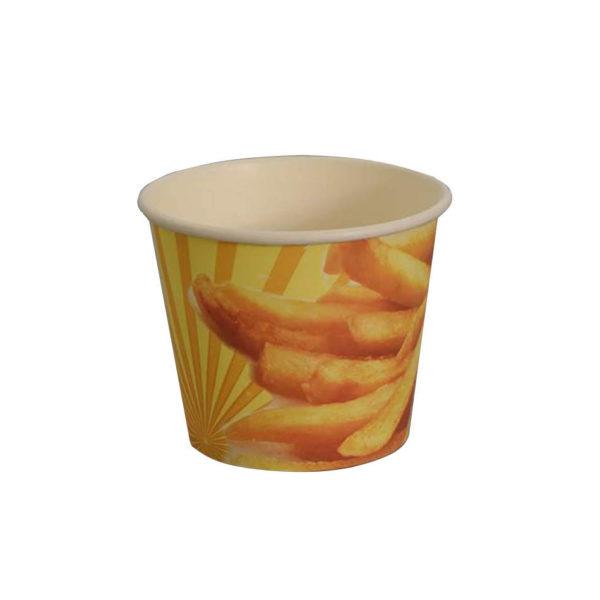 papir posoda za krompirček, pommes frites