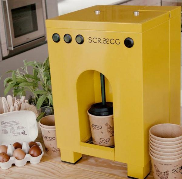 Scraegg aparat za pripravo BIO toplih obrokov za gostinstvo
