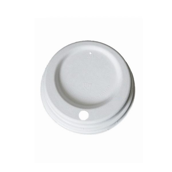 Papirnat pokrov za lonček za kavo na poti fiber Lid Huhtamaki.jpg