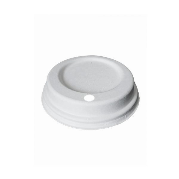 Papirnat pokrov za lonček za kavo fiber Lid Huhtamaki.jpg